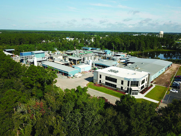 chemical toll manufacturing services plant facility in Georgia, USA by Optima Chemical